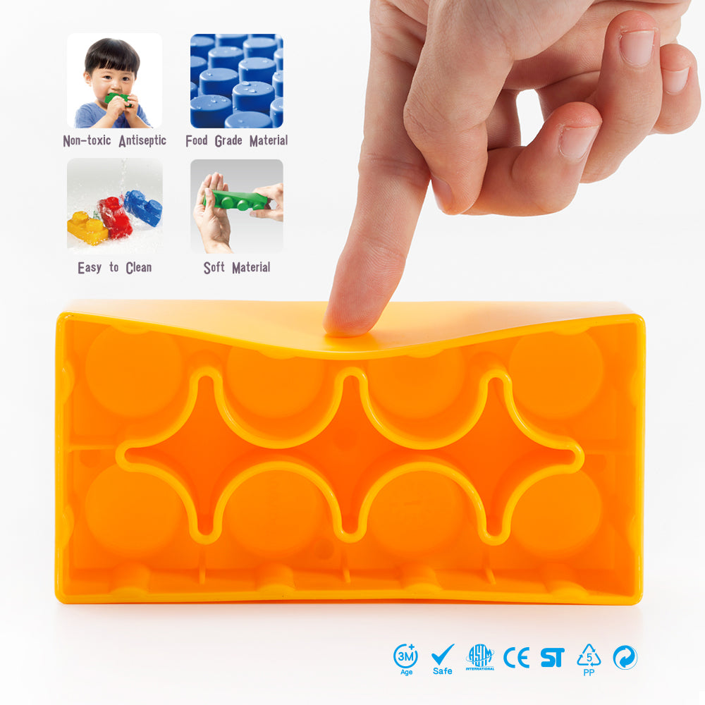 UNiPLAY Soft Building Blocks Plump Series 36pcs (#UN1036PR)(4 sets a ctn)