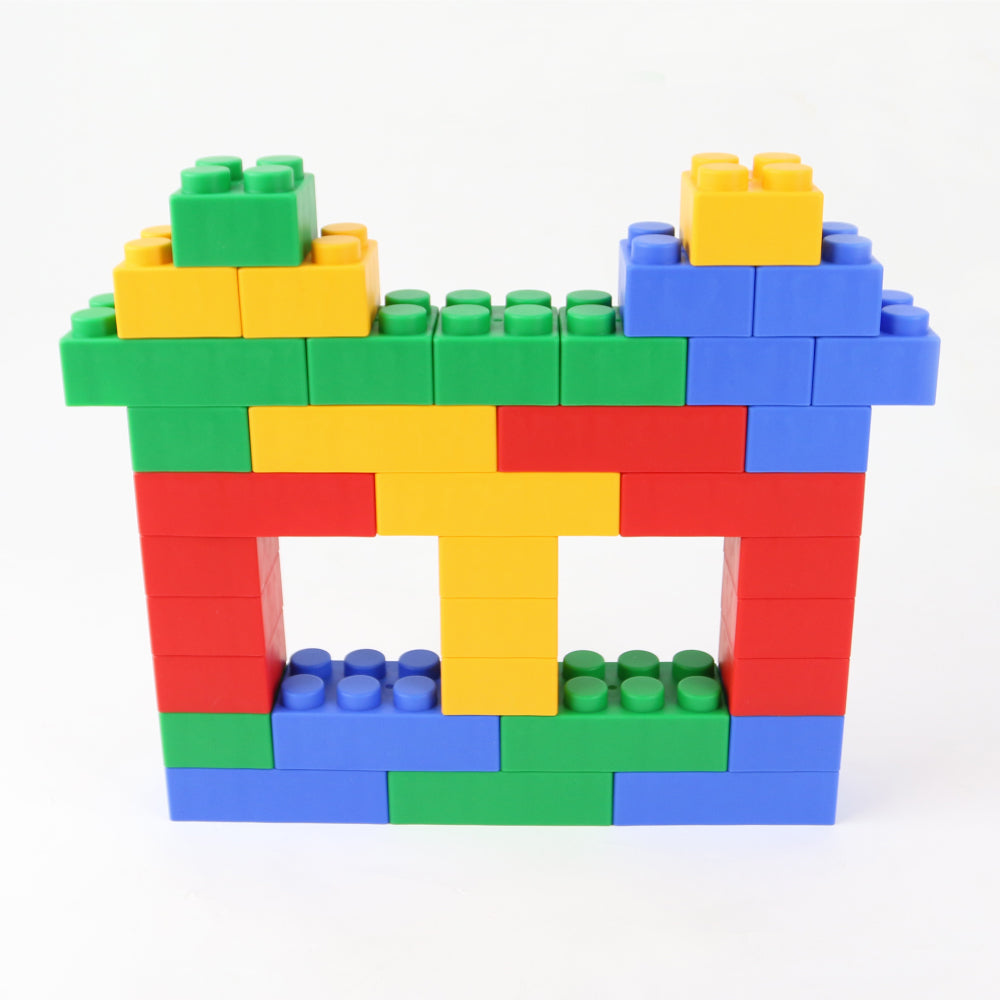 UNiPLAY Soft Building Blocks Plump Series 24pcs (#UN1024PR)(8 sets a ctn)