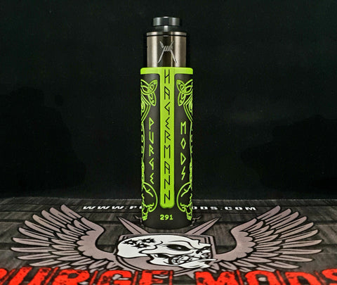 "The Guillotine ""Zombie Ragnar Edition"" Mech MOD & 28.5mm XRDA kit by Purge Mods"