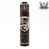 Skull & Shield 21700 w/OG Cap - Distressed Blood Splatter LE - Copper