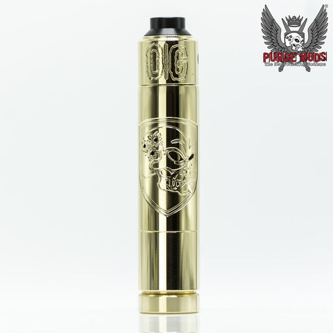 Skull & Shield 21700 w/OG Cap brass