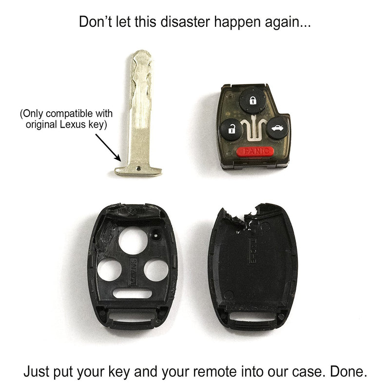 Honda Key Replacement Shell (3 Button) by StauberBest - STAUBER Shop