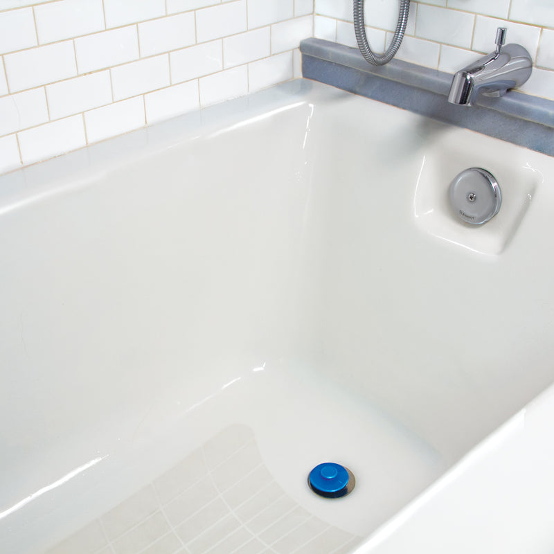 Stauber Best Bathtub Hair Catcher and Tub Stopper - two in one device that catches clogs before they happen.
