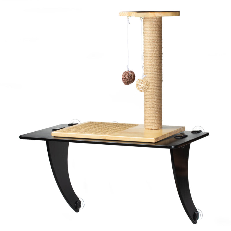 STAUBER Best Bamboo Cat Window Perch - Renewable and Eco Friendly! - STAUBER Shop