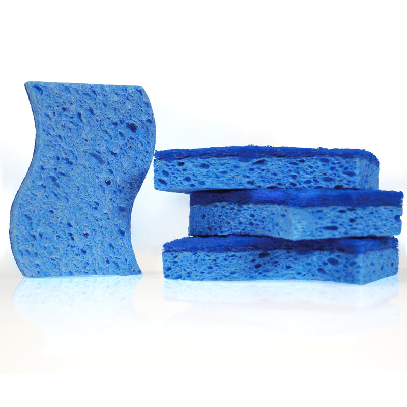 Stauber Best Magnetic Sponge (2 pack) - Let your Sponge Drip Dry.