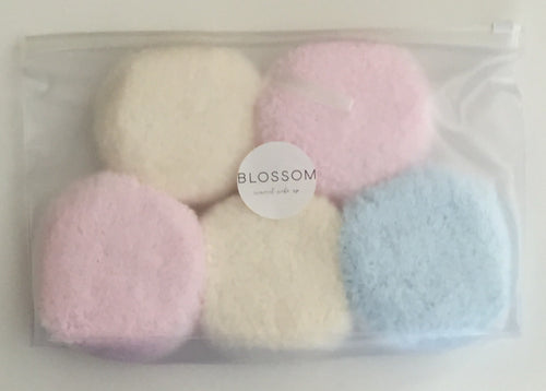 5 Pack of Makeup Removers In Clear Washbag