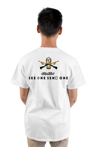See One Send One Men Pocket T-Shirt (FREE Basic Premium)