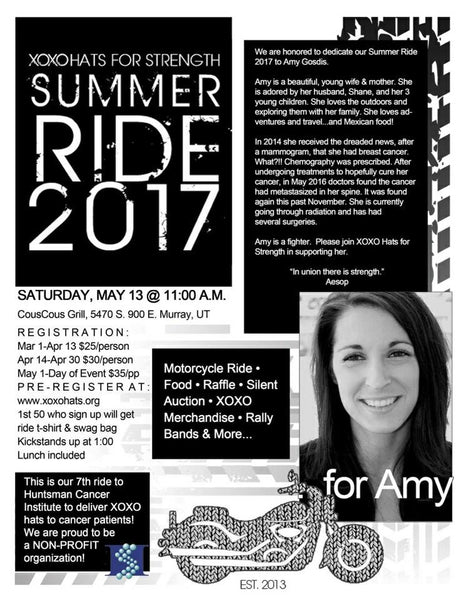 XOXO Summer Ride 2017 - For Amy