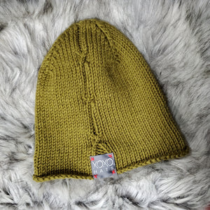 Knit by hand XOXO Beanie
