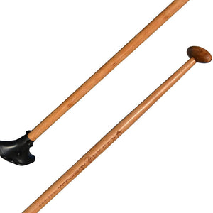 Bamboo Big Stick, paddle for Street SUP, land paddling, New Zealand