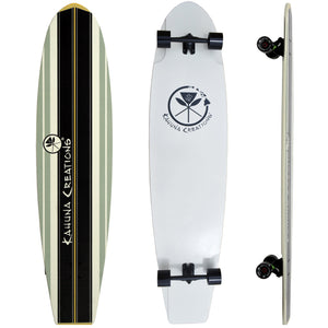 Bombora long board for Street SUP, land paddling, New Zealand
