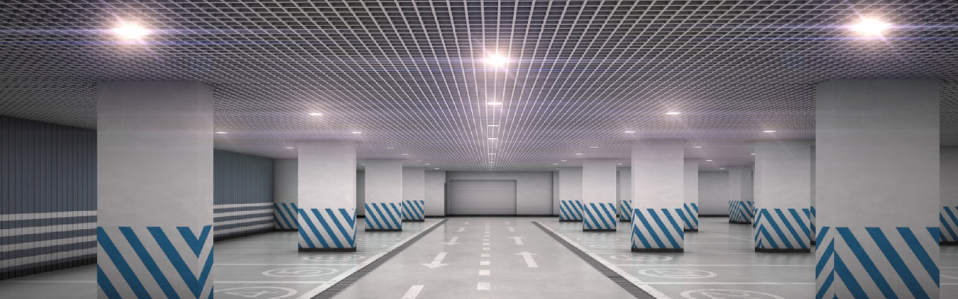 Indoor Canopy Light, Outdoor Canopy Light, Wide Application, 45W 45 Watt, 70W 70 Watt, Parking Garage, Warehouse, Shop Light, Outdoor Commercial Light, Indoor Commercial Light