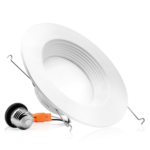 "5/6"" LED Baffle Downlight - Recessed Light  - 12W"