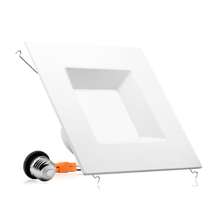"6"" LED Square Recessed Light  - 15W"