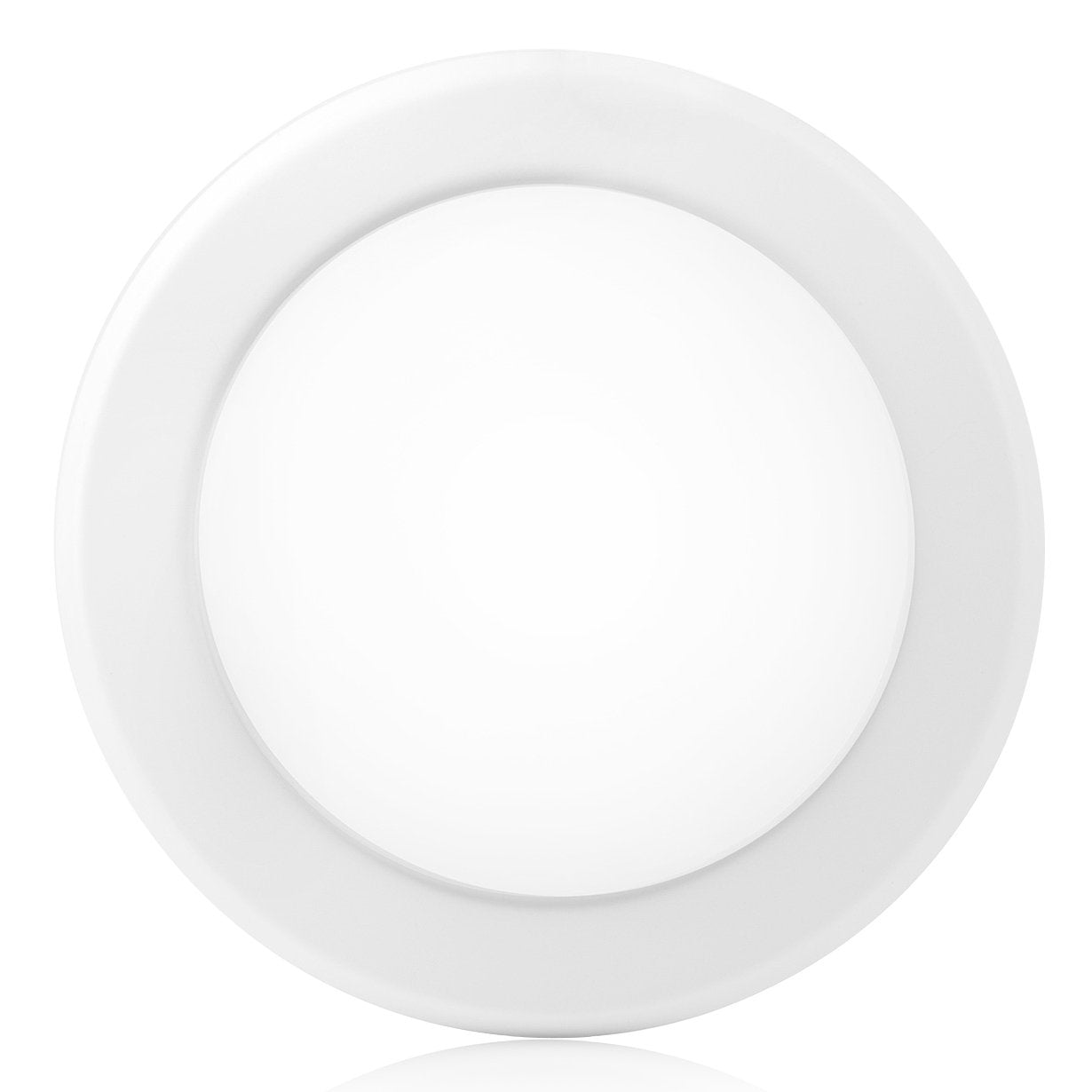 These are a type of recessed lighting that sits on top of the ceiling, commonly known as surface mount lights. They shine light downwards similar to your traditional downlights. The major difference is the light sit on top of the ceiling and does not go into the ceiling.