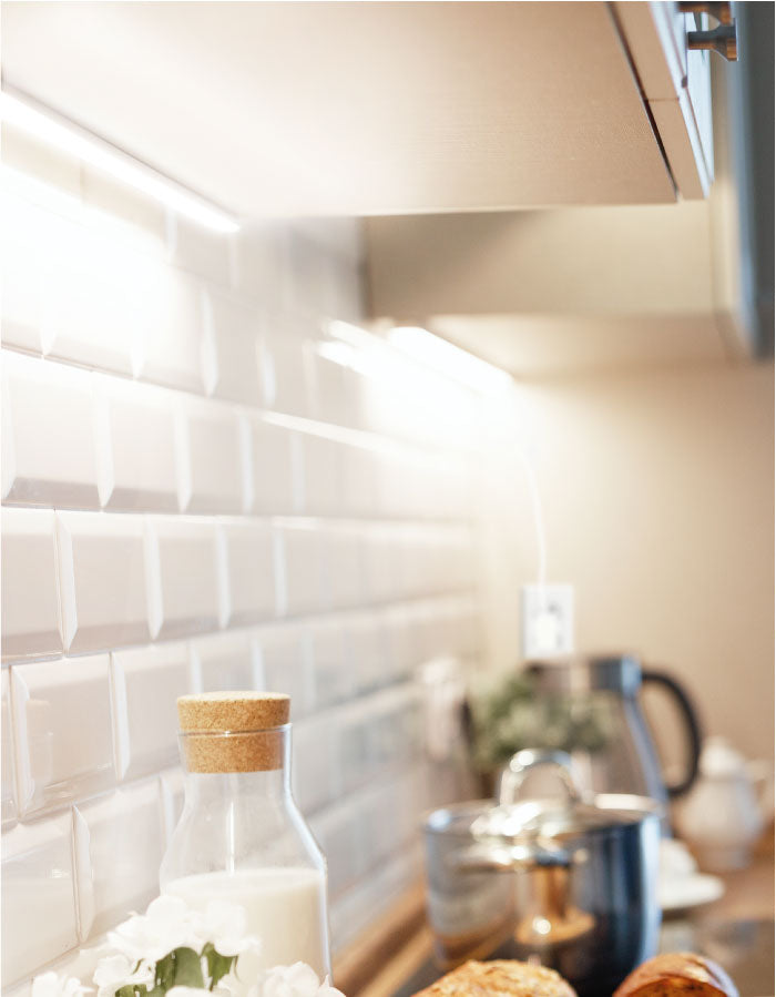 Brighten up your kitchen by installing additional LED Counter Lights. The added light will transform your space and increase visibility to where is needed.