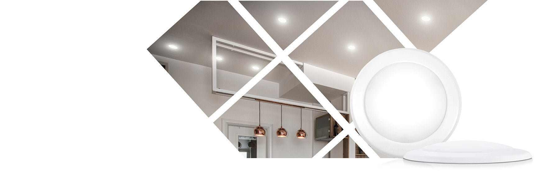 Parmida LED Disk Light is the perfect flush mount ceiling light. They are ultra-thin with universal installation methods, they work in both recessed cans and junction box. They give out great light output that can illuminate your home beautifully. These Disk Lights are dimmable and come in 4 inch and 5 inch sizing.