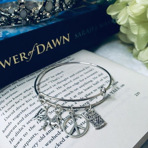 Chaol & Yrene Charm Bangle
