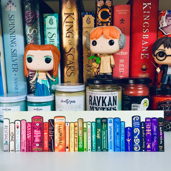 Rainbow Shelfie Bookmark