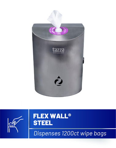 Flex Wall Stainless Steel Wipe Dispenser