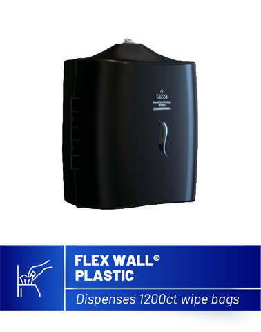 Flex Wall Plastic Wipe Dispenser