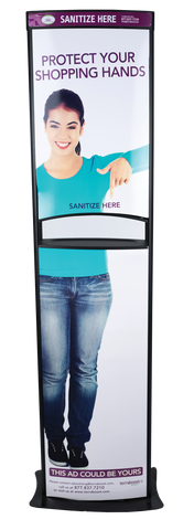 Terraboost Optima® Sanitizer Dispenser