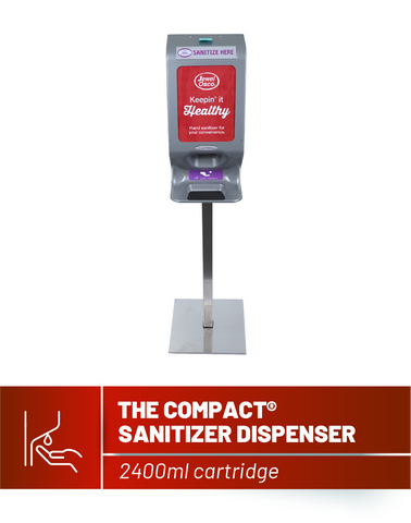 Compact Sanitizer Dispenser (With Base & Pole Set)