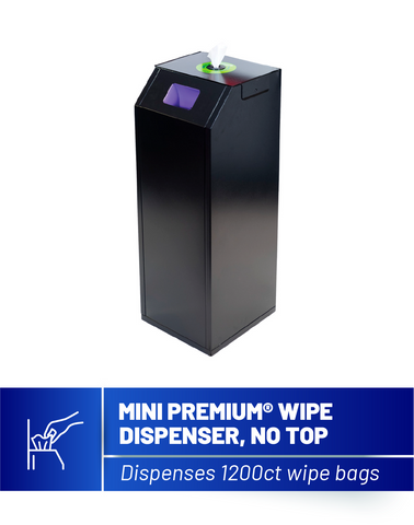 Mini Premium Sanitizing Wipe Dispenser (Base Only)