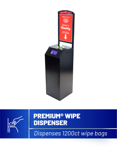 Premium Sanitizing Wipe Dispenser