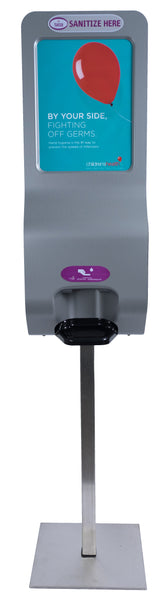 Terraboost Luxury® Auto Sanitizing Dispenser (With base & pole set)