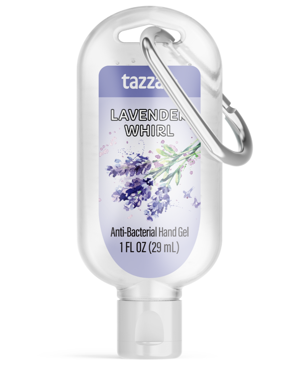 Travel Scented Hand Sanitizer Gel with Aloe Vera and Hook