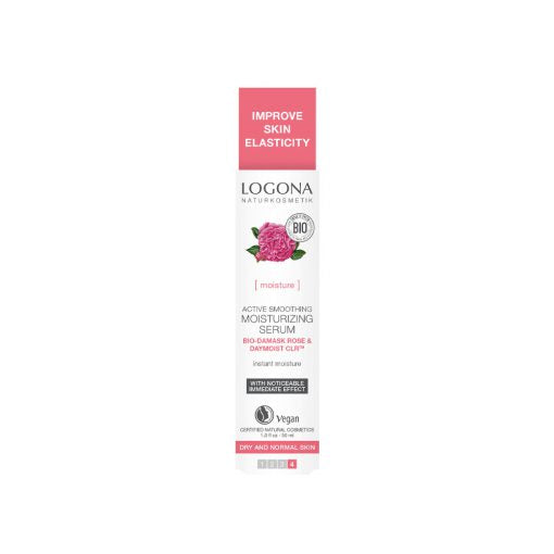 LOGONA Active Smoothing Moisturizing Serum 30 ml -kosteuttava seerumi