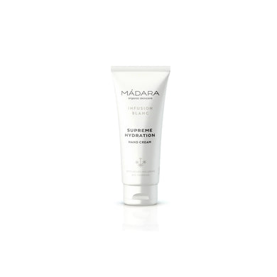 MÁDARA Infusion Blanc Supreme Hydration Hand Cream 75ml