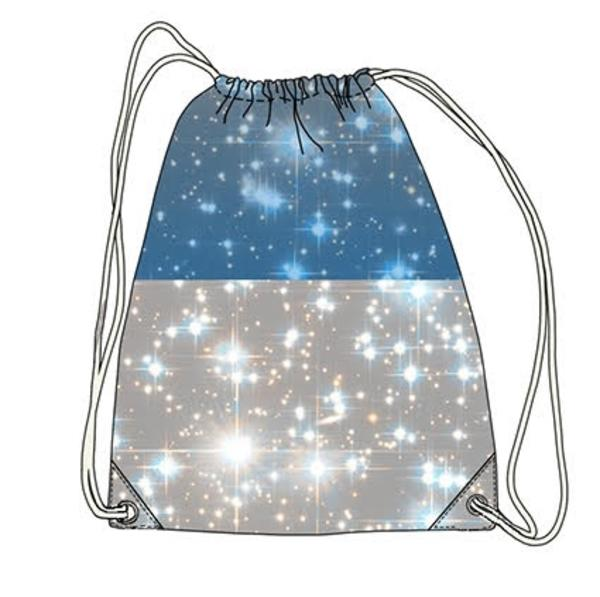 Drawstring Tote - Space Roller