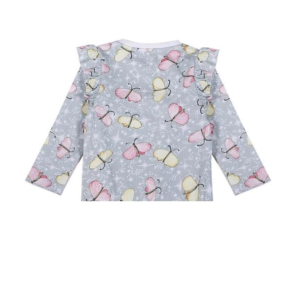 Frilled T-shirt - Butterfly Sparkle