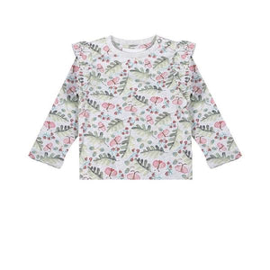 Frilled T-shirt - Raspberry Dreams