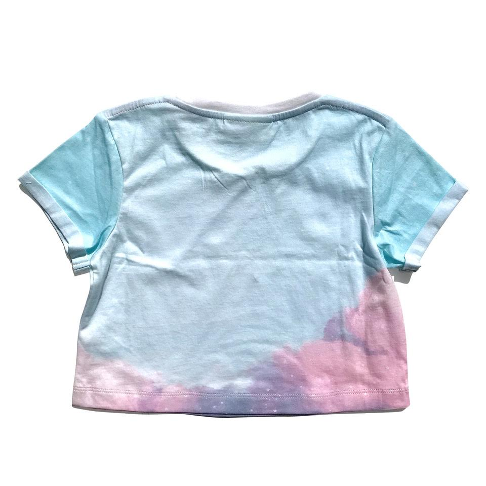 Cropped T-shirt - Magic Sky