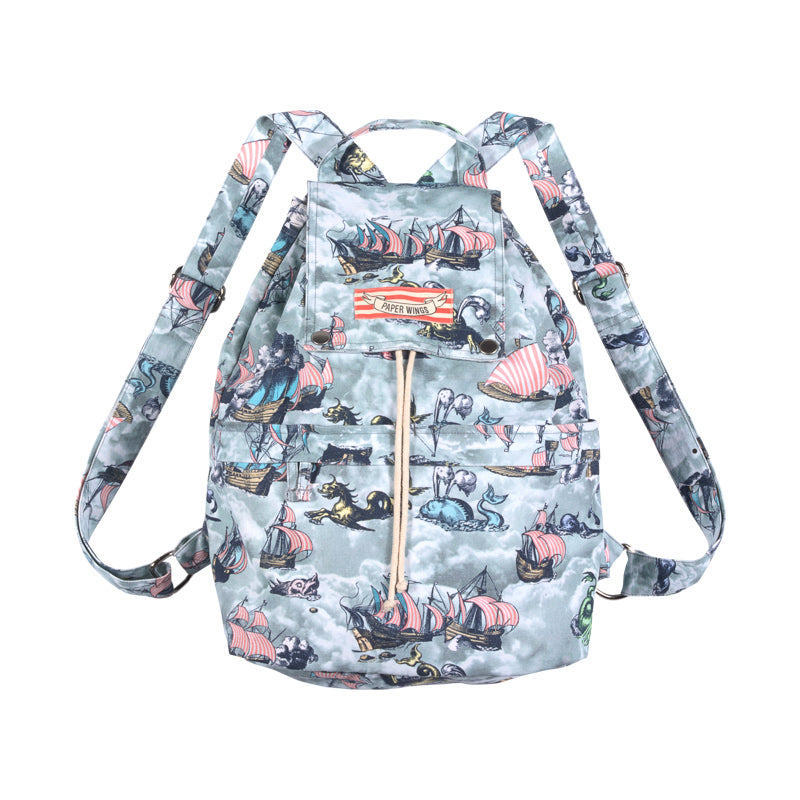 Drawstring Backpack - Sailing High