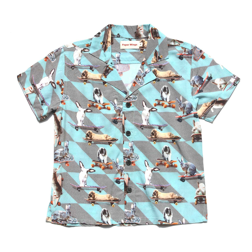 Hawaiian Shirt - Rabbit Rollin