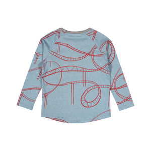 Raglan Long Sleeve T-shirt - Wild Ride