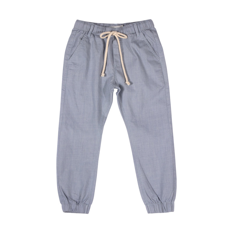 Chambray Trackies