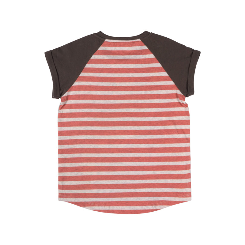 Raglan Cuff T-shirt - Sea Dog
