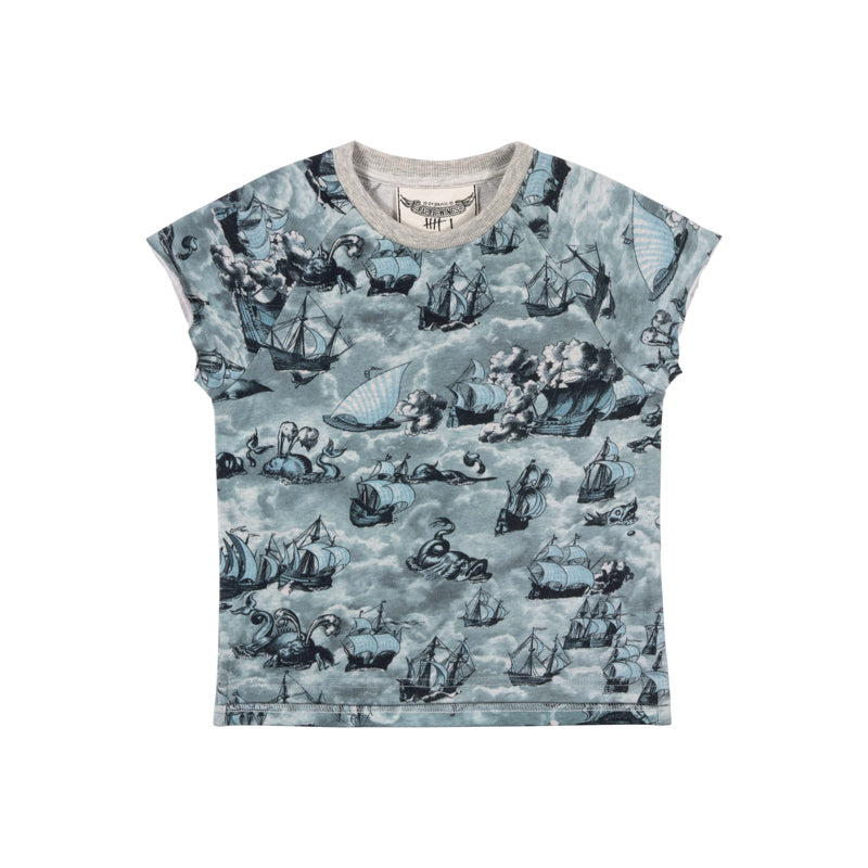 Tank Sweater - Sailing High Blue