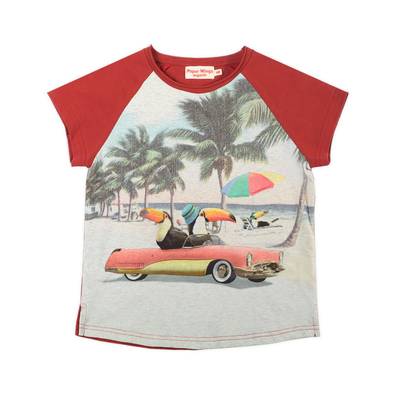 Raglan T-shirt - Beach Life