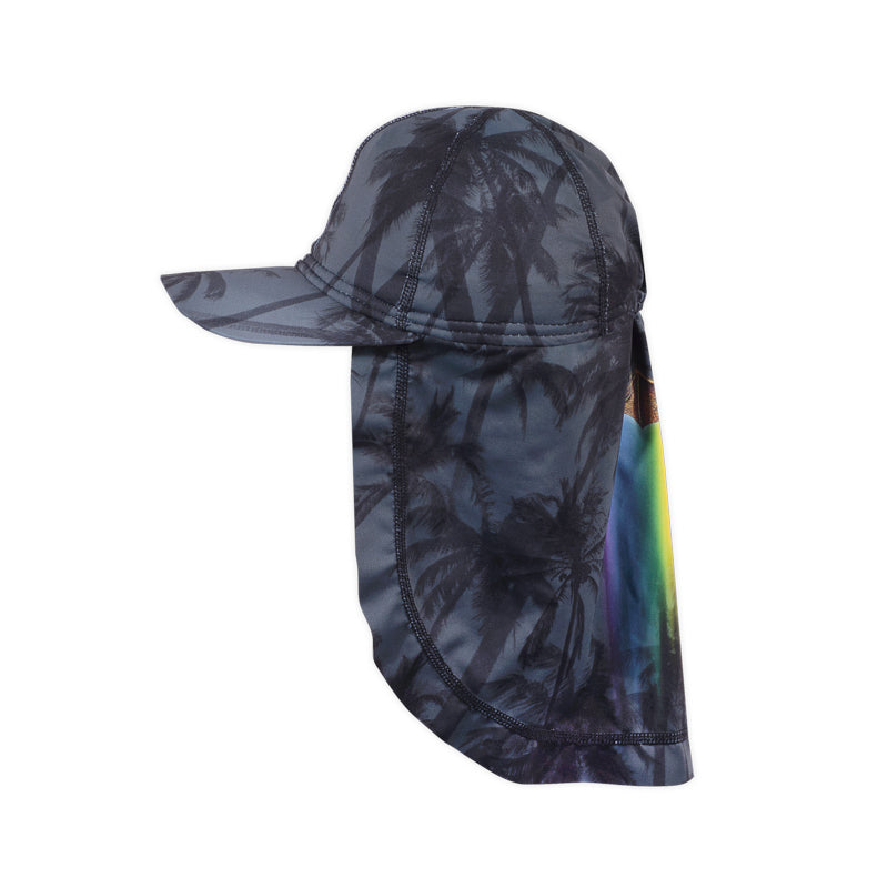 Swim Cap - Rainbow Bat