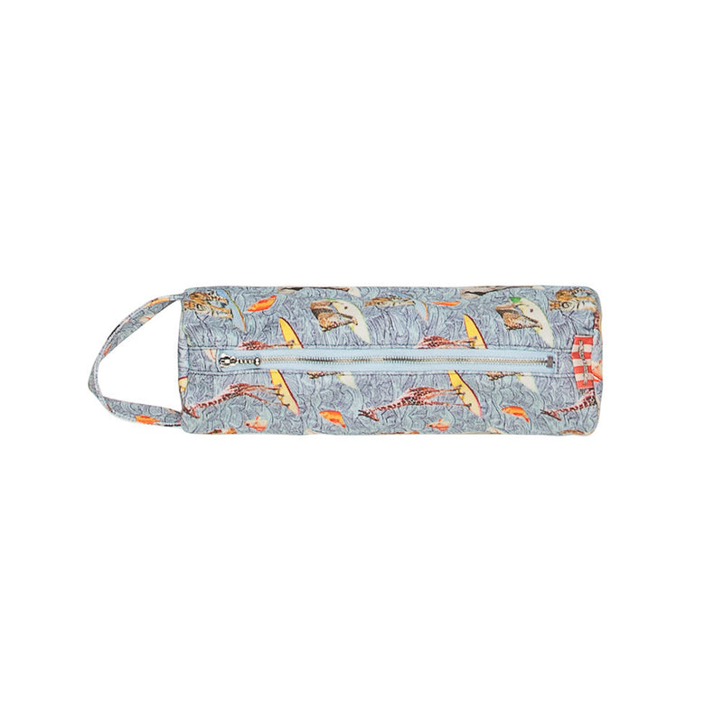 Round Pencil Case - Surfs Up