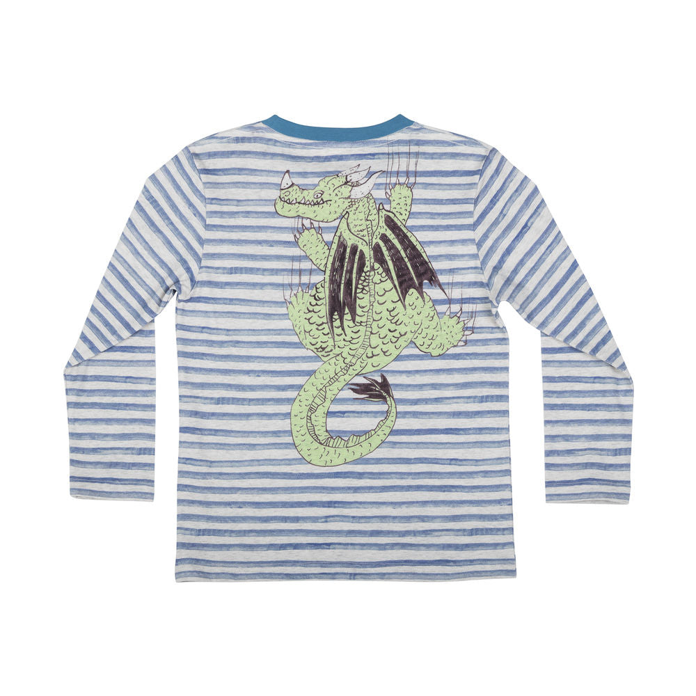 Classic Long Sleeve T-shirt - Dragon Stripe