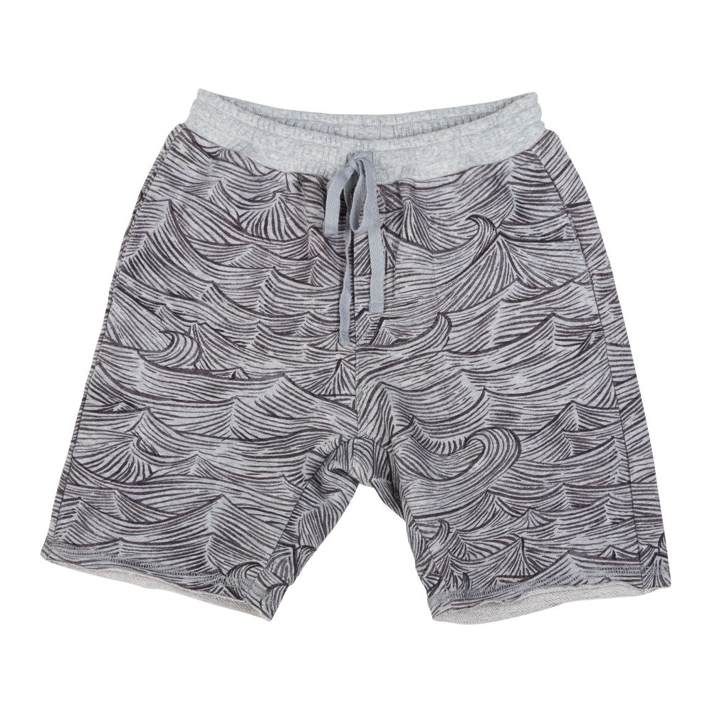 Fleece Shorts - Waves