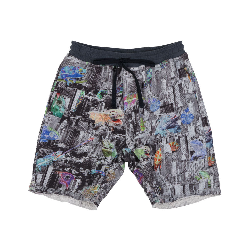 Fleece Shorts - Urban Jungle