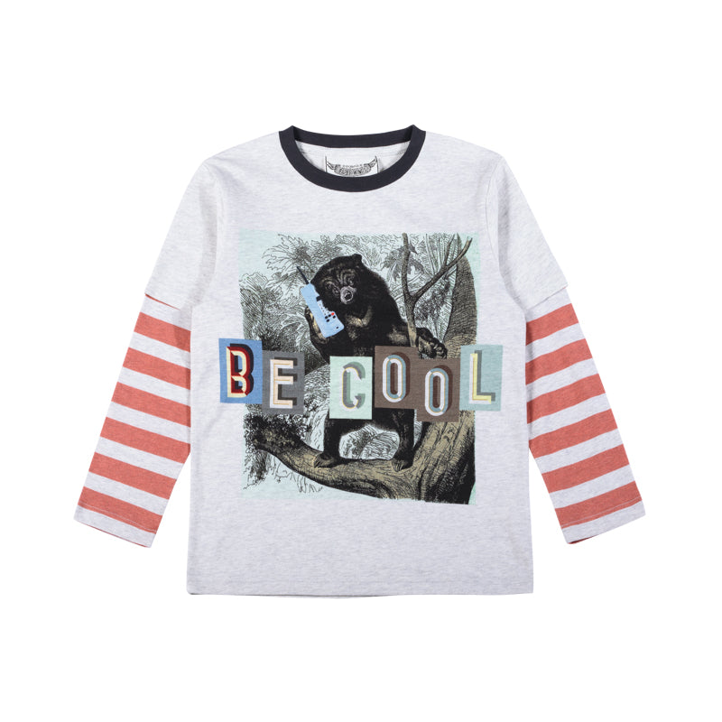 Double Sleeve T-Shirt - Be Cool